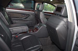 Коли под наем|Вътрешен интериор на Audi А8 Quattro  Brone.bg