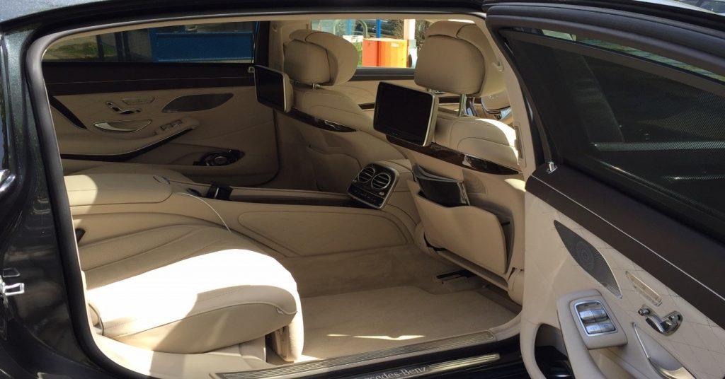 Коли под наем|2016 Mercedes-Maybach S-Class Вътрешен интериор Brone.bg