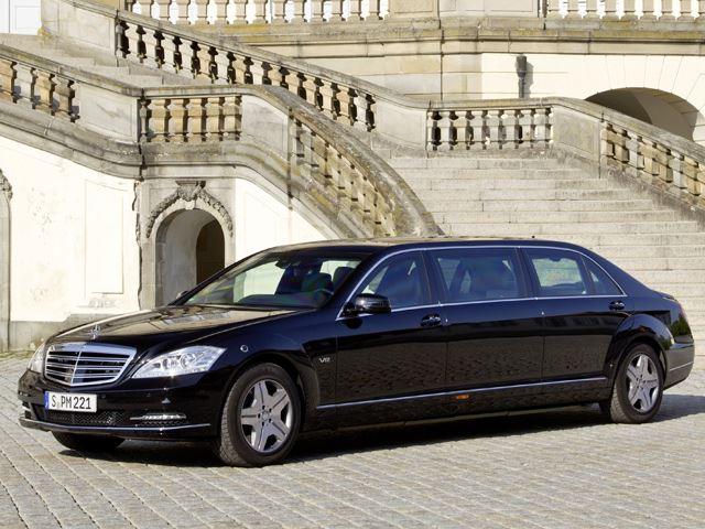 Mercedes-Maybach Pullman снимка | Brone.bg