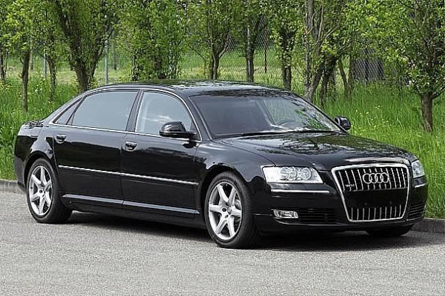 Armored Audi limo | Brone.bg