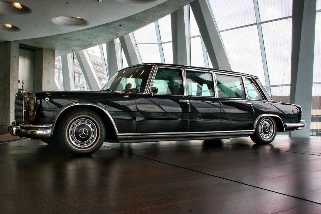 Armored limo Pullman State | Brone.bg
