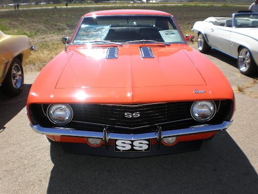 Retro Chevrolet in red